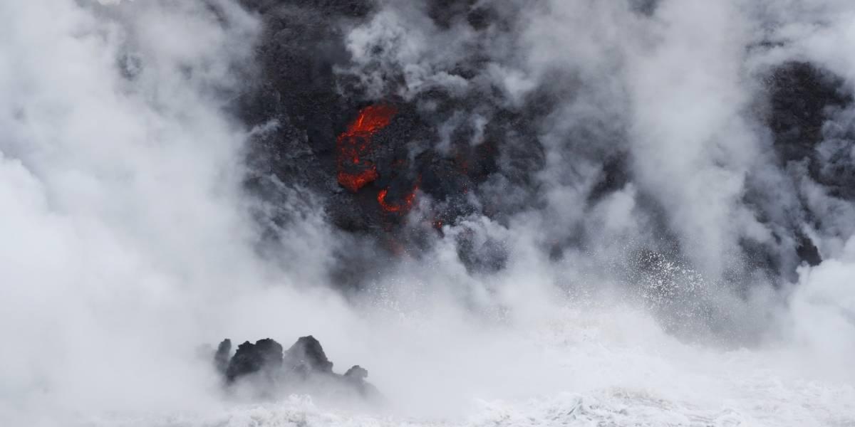 Así de impresionante es la erupción del volcán Kilauea