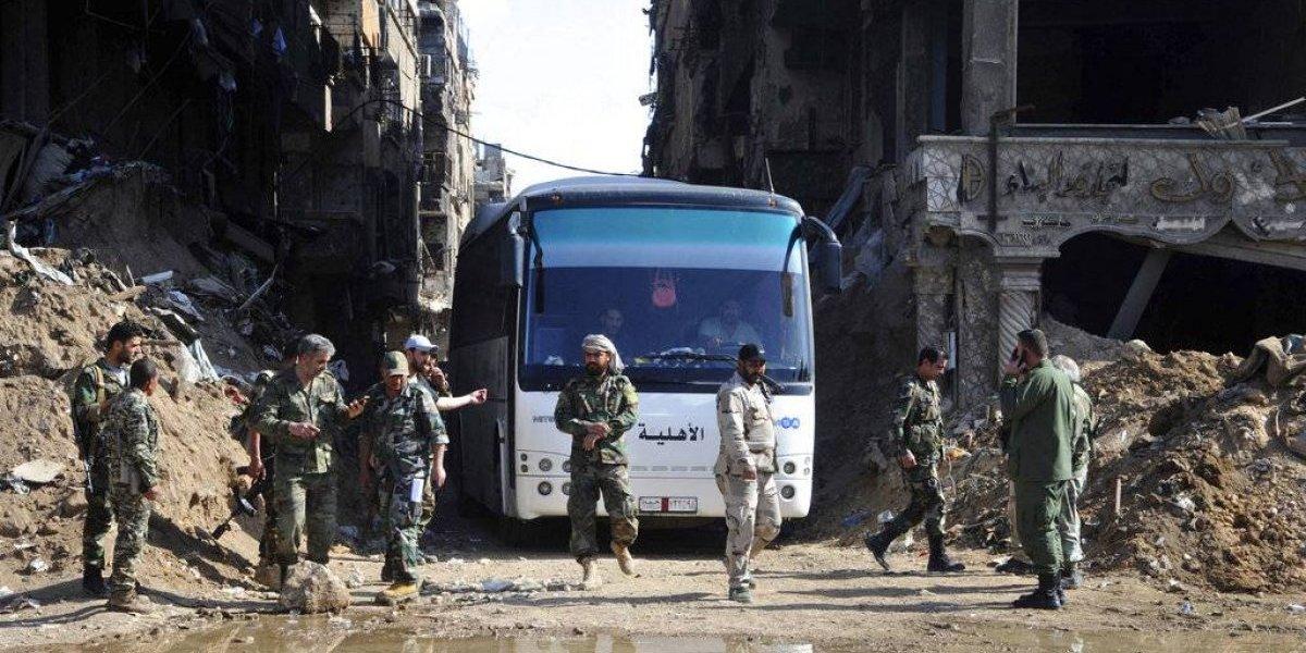 Siria declara que ha expulsado a rebeldes de Damasco