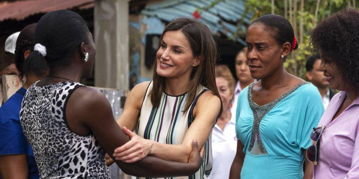 """Luego de """"reconciliarse"""" con su suegra: Reina Letizia de España respaldó proyectos solidarios en Dominicana"""