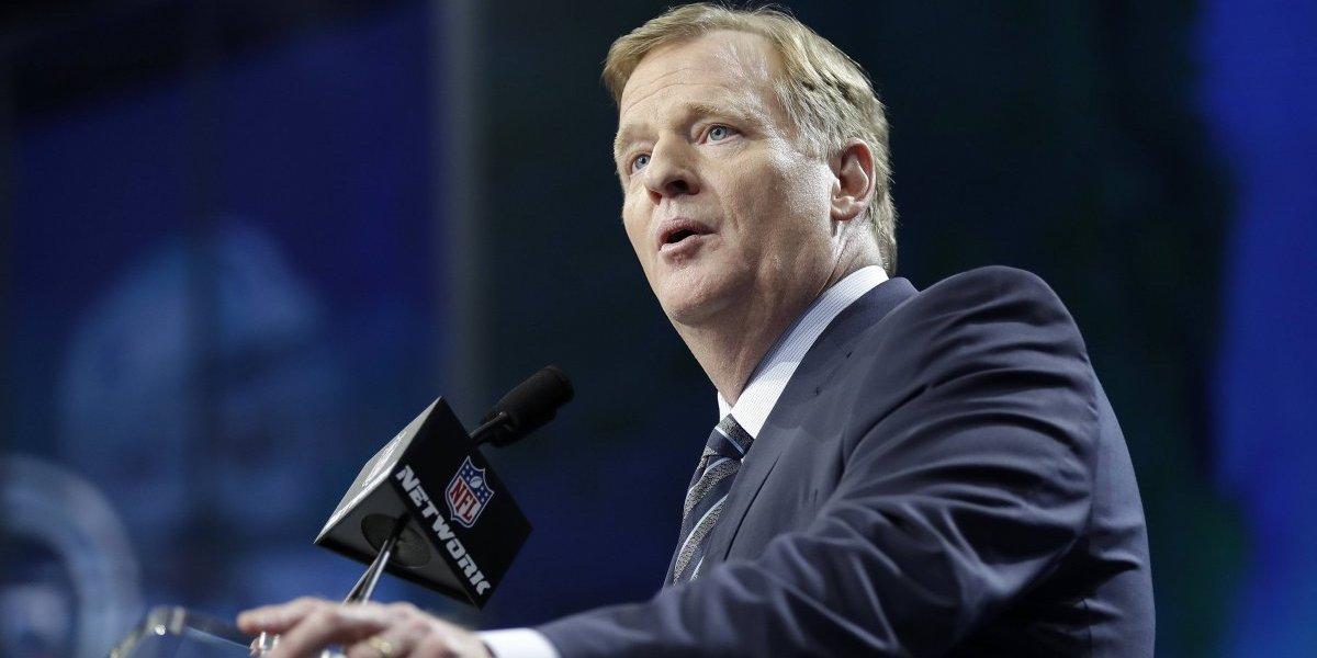 Comisionado de la NFL fija postura sobre apuestas deportivas