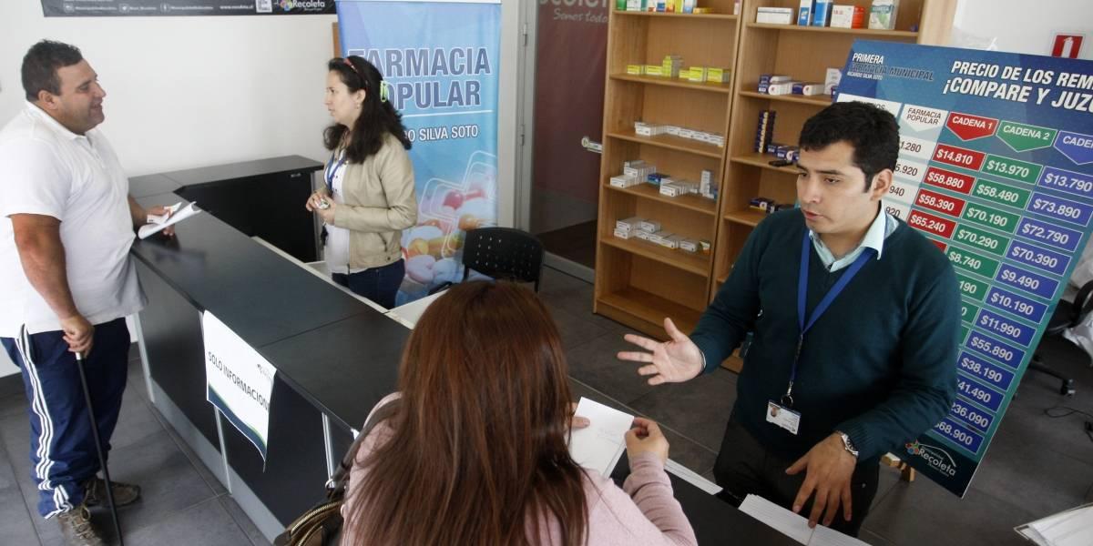 Farmacia Popular de Recoleta bajo la mira por irregularidades detectadas por Contraloría