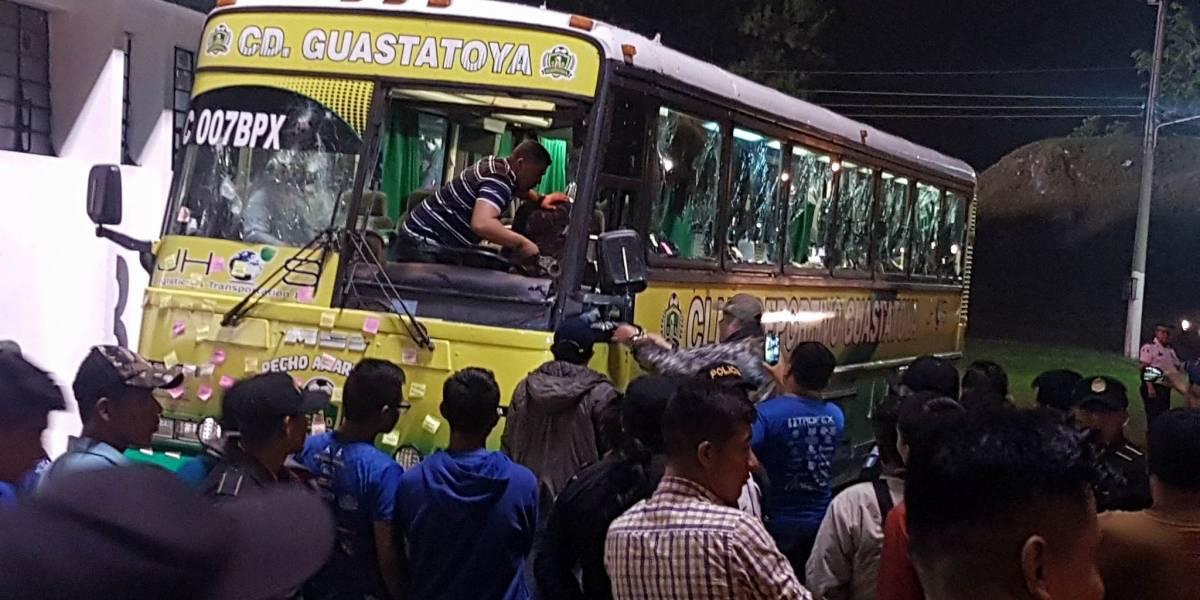 EN IMÁGENES. Disturbios tras el partido entre Cobán y Guastatoya
