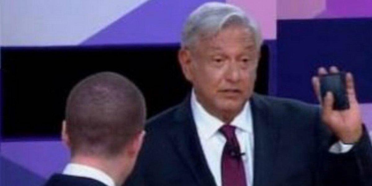 """""""Voy a cuidar mi cartera"""", dice AMLO a Anaya en segundo debate presidencial"""