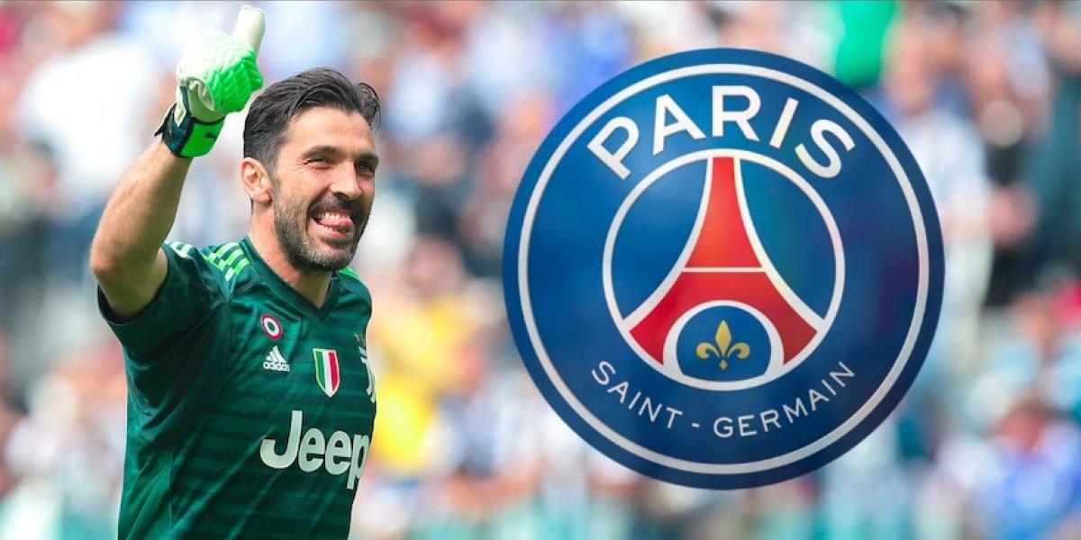 PSG espera fichar a 'Gigi' Buffon en los próximos días