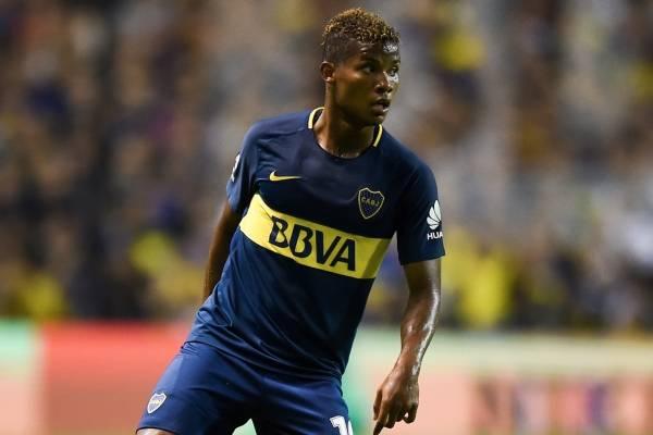 Wilmar Barrios sería compañero de un colombiano