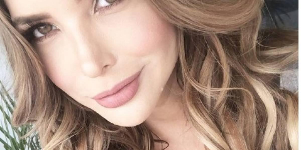 Erika Vélez muestra su cicatriz tras accidente doméstico