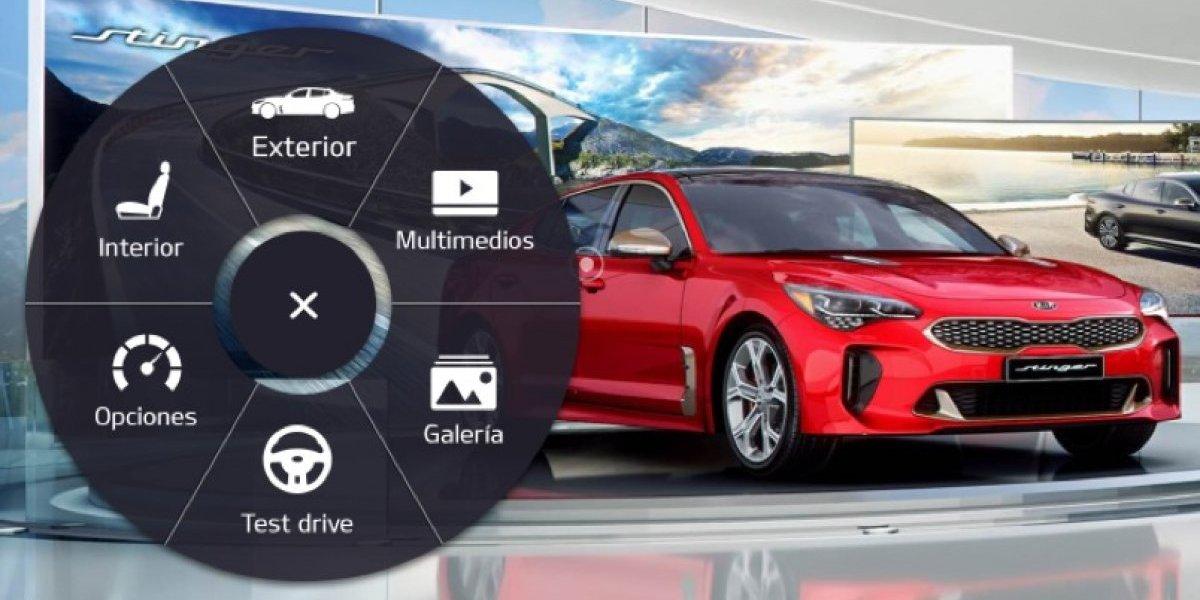 Kia presenta plataforma digital para pruebas de manejo