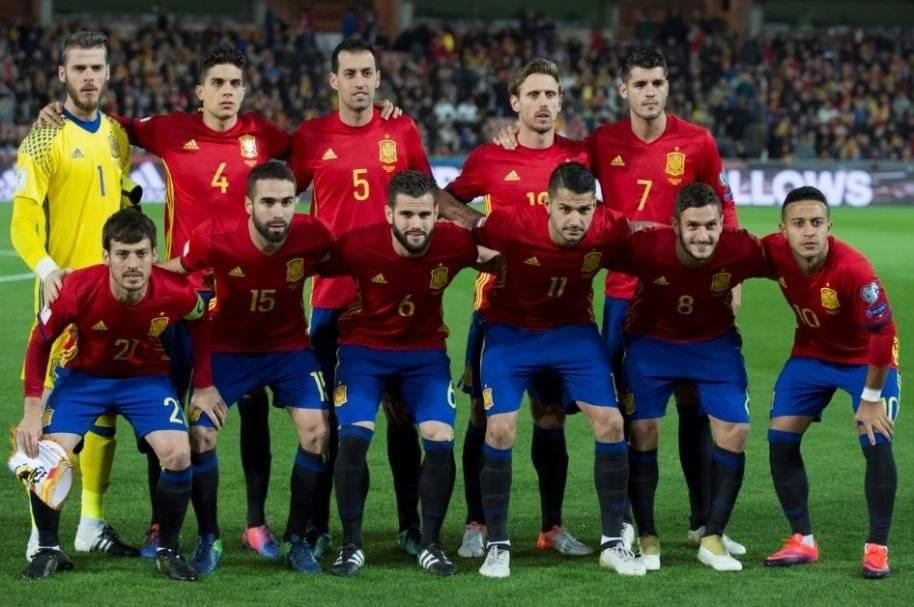 La selección de España