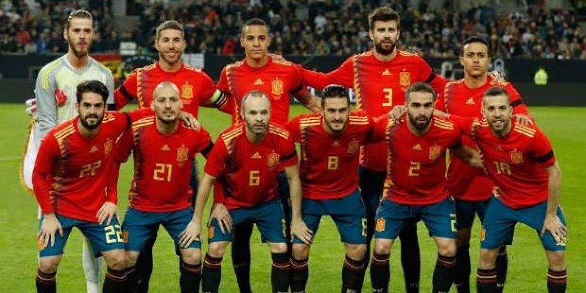 Las sorpresas en la lista de definitiva de España para el Mundial