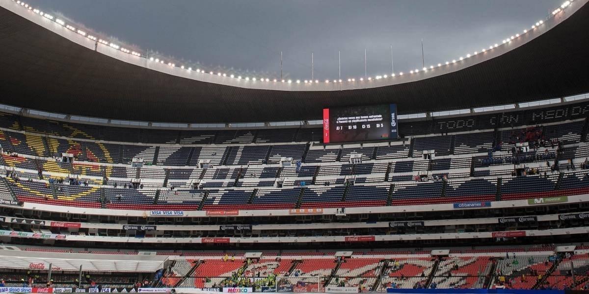 Cruz Azul exigirá quitar escudo del América del Estadio Azteca