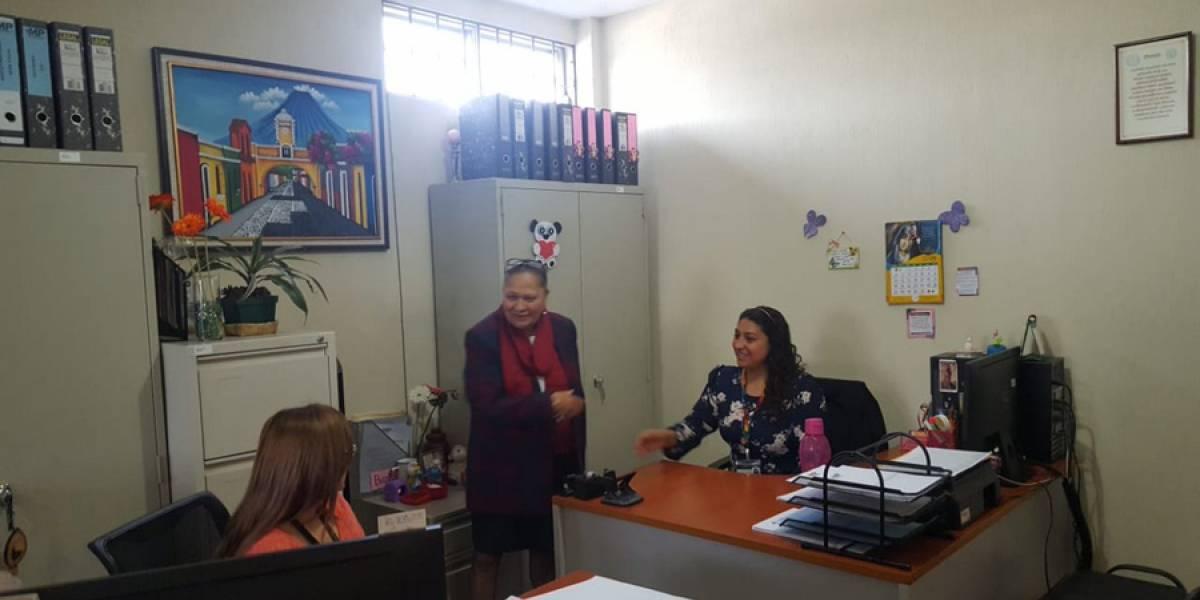 Fiscal general visitó Fiscalía Distrito de Chimaltenango y otras agencias fiscales