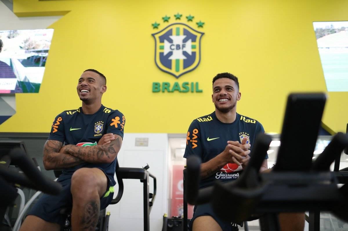 Gabriel Jesus e Taison Lucas Figueiredo/CBF