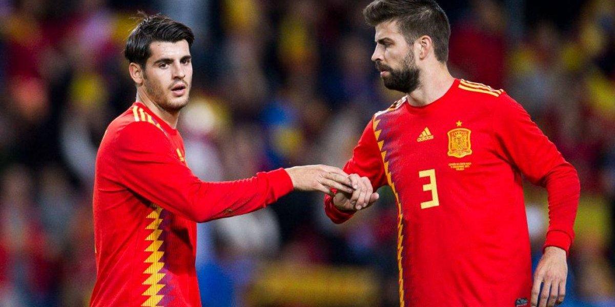 Aficionados estallan contra DT de España por dejar fuera del Mundial a Morata