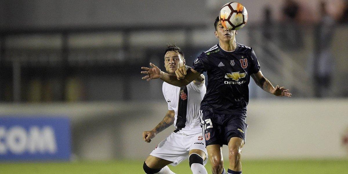 """Leandro Desábato, figura de Vasco calienta el partido clave ante la U: """"También tenemos como objetivo clasificar a la Sudamericana"""""""