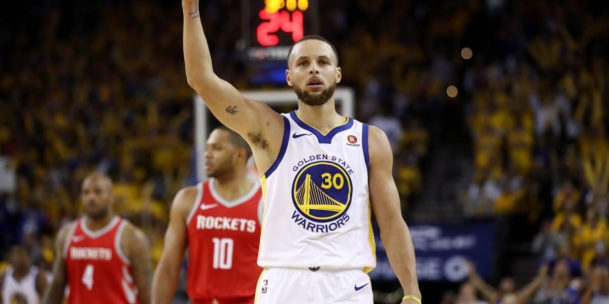 NBA: Golden State derrota a Houston Rockets y toma ventaja en la final del oeste