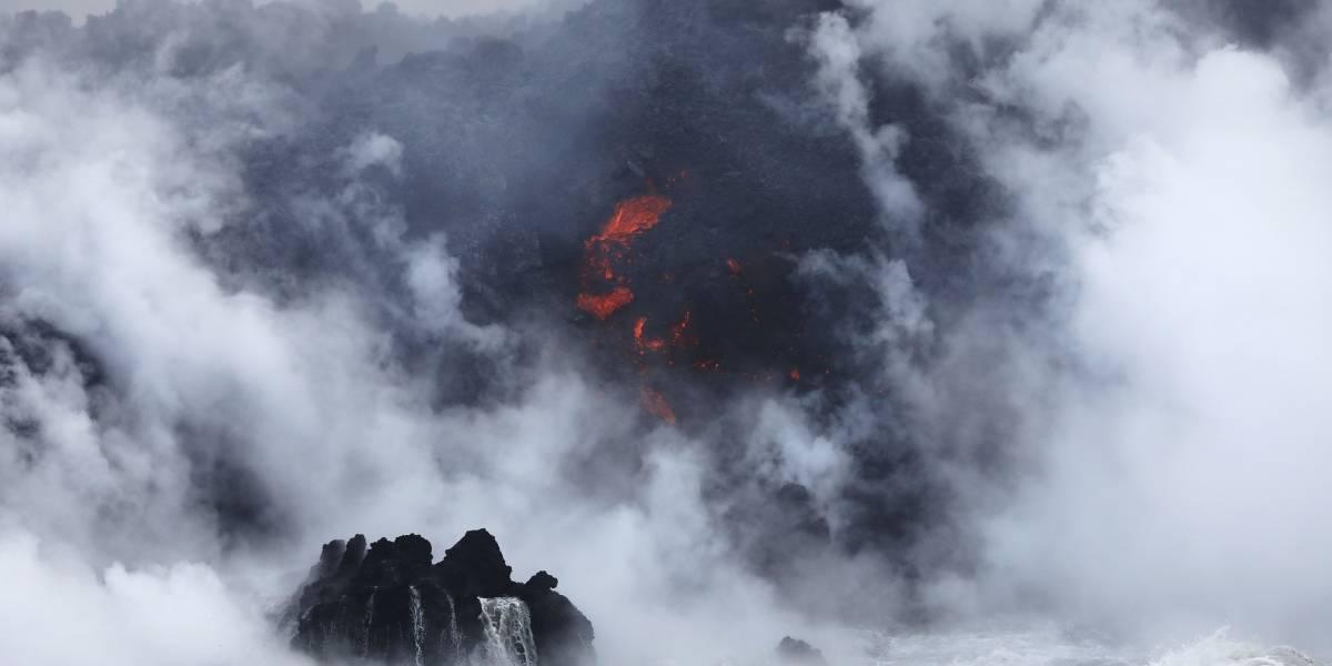 Nube tóxica amenaza a Hawai: el nuevo peligro que genera la lava del Kilauea mezclada con el océano