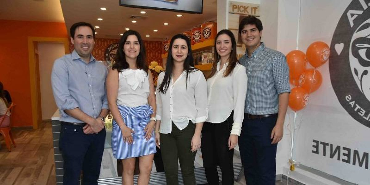 #TeVimosEn: Inauguran nueva franquicia de helados Paletas Morelia en RD