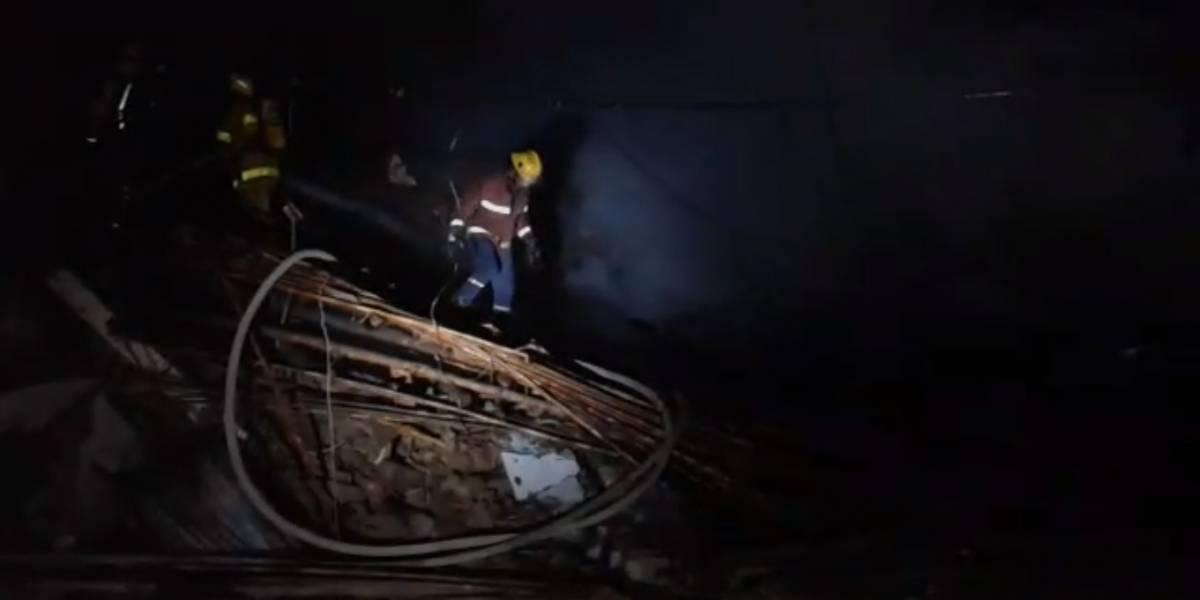 En fotos: así quedó la ferretería que se incendió en el Cauca tras una explosión