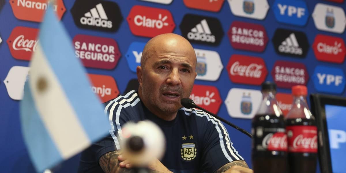 En vivo: Jorge Sampaoli anuncia la lista oficial de Argentina para Rusia 2018
