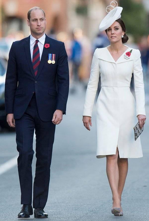 Kate Middleton Vestido Alexander McQueen