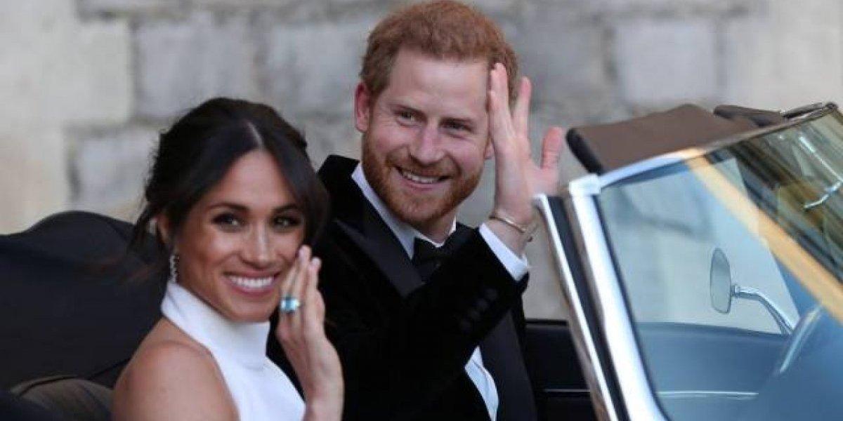 Rainha Elizabeth presenteou Harry e Meghan com um pequeno castelo