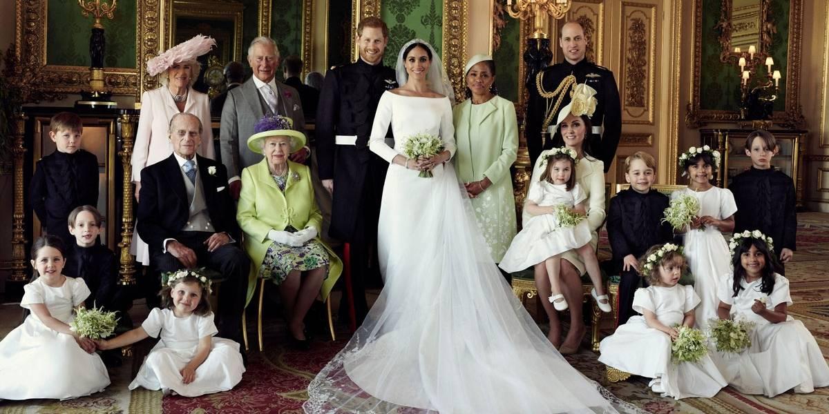 Meghan e Harry divulgam primeiras fotos oficiais do casamento real