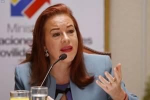 Canciller María Fernanda Espinosa