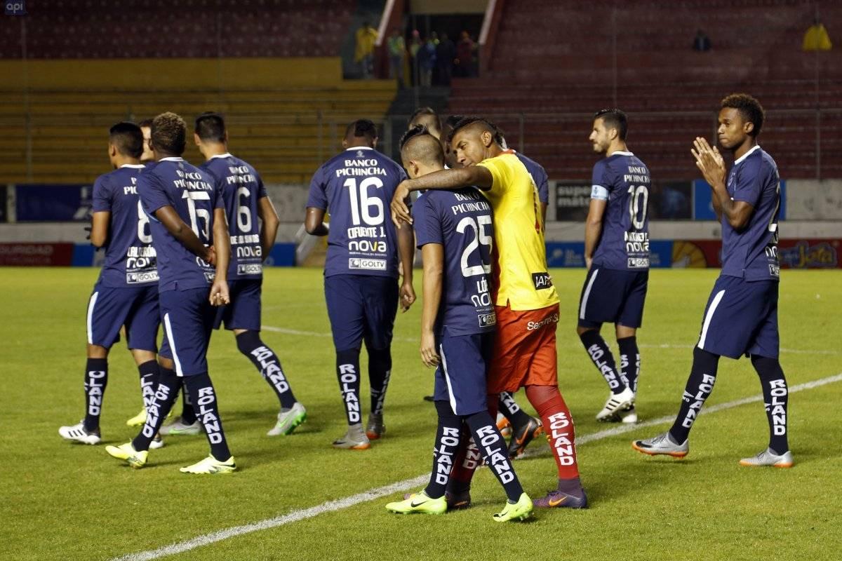 Se canceló el partido de Sociedad Deportiva Aucas vs U. Católica por la fecha 14 API