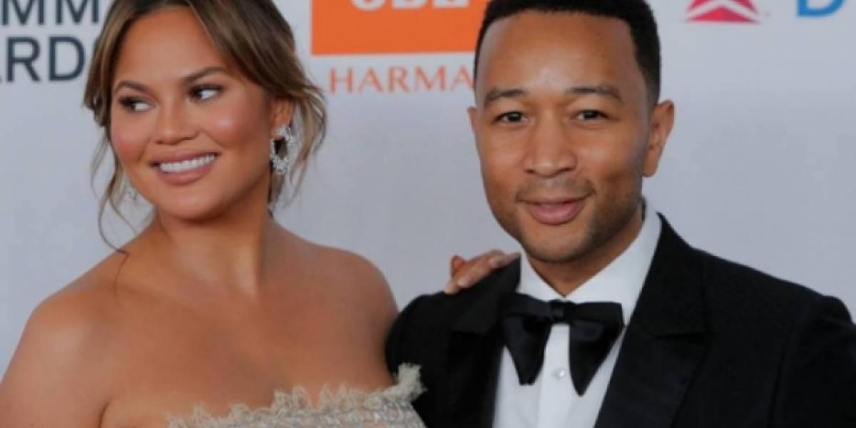 Chrissy Teigen revela nome do seu segundo filho com John Legend