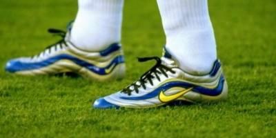 Estos fueron los zapatos usados por Ronaldo en Francia 98