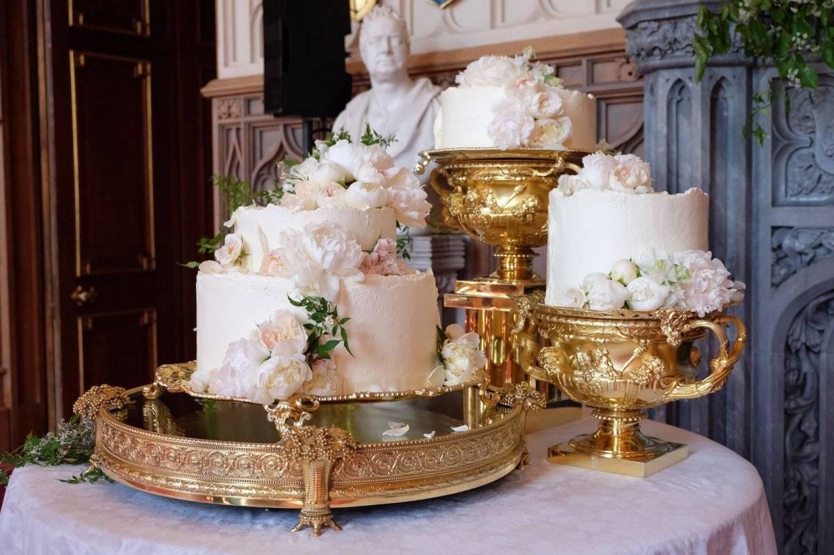Meghan Harry pastel de bodas