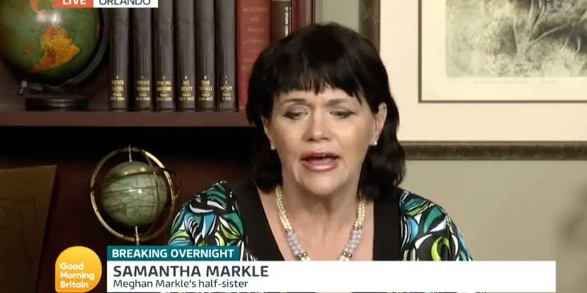 Samantha Markle acusa mãe de Meghan de ganhar dinheiro com casamento real