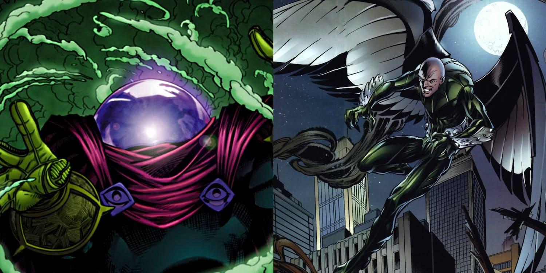 Mysterio llega como un nuevo villano, junto a El Buitre