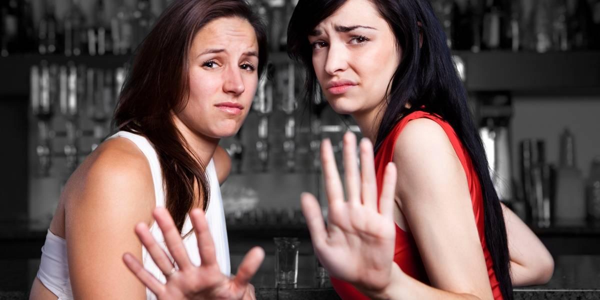 ¿Cuántas veces tocan a una mujer en una noche de carrete sin su consentimiento?