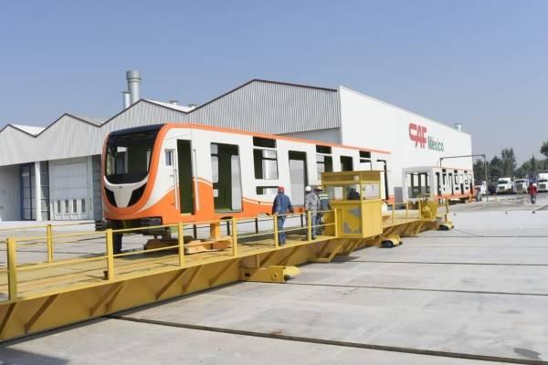 Nuevos trenes del Metro.