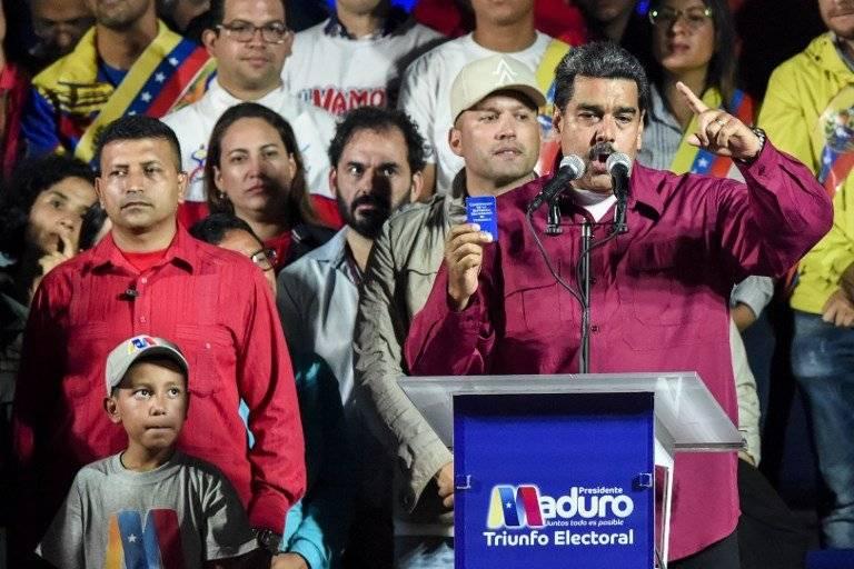 Nicolás Maduro gana la reelección