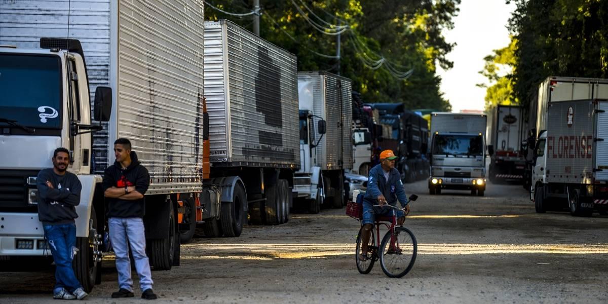 Caminhoneiros voltam a protestar em rodovias contra a alta do diesel