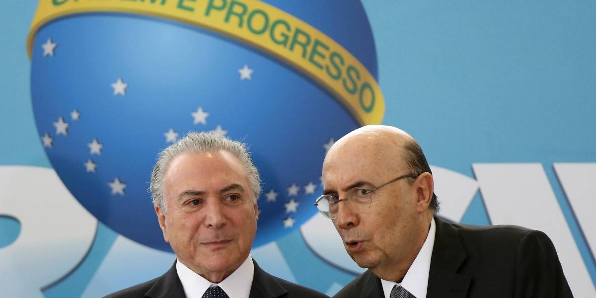 Temer anuncia Meirelles como pré-candidato do MDB