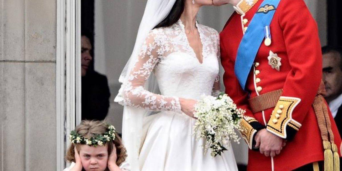 Assim está hoje a menina que roubou a cena no casamento de William e Kate Middleton