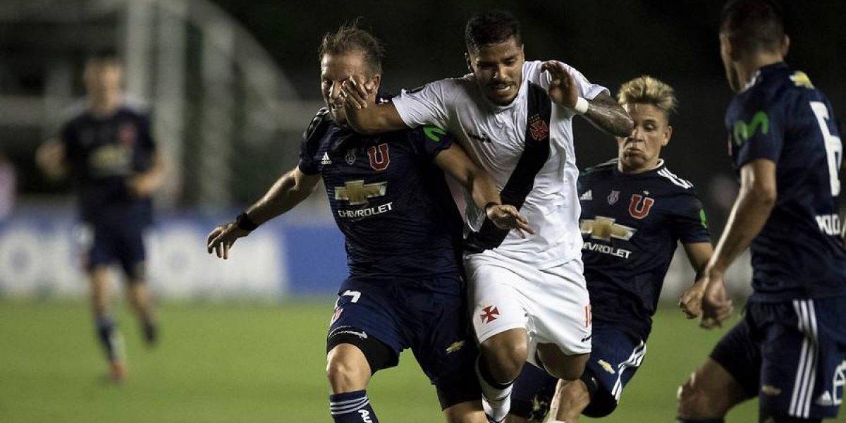 Así vivimos la eliminación de la U en la Libertadores ante Vasco da Gama