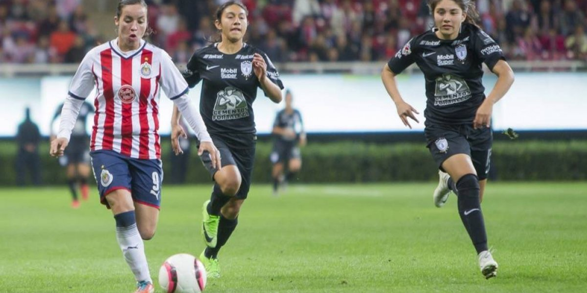 Brenda Viramontes se pone una meta: ser campeona de goleo con Chivas