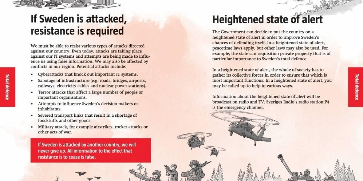 Suecia se pone en guardia: así prepara a sus ciudadanos para la guerra