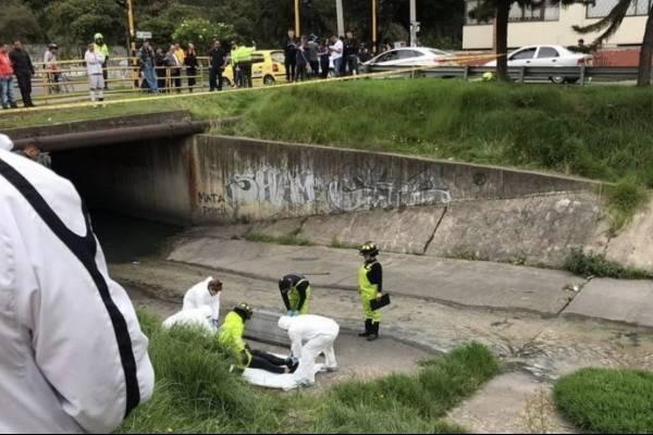 Extraña muerte del hijo de un coronel encontrado en un caño del norte de Bogotá
