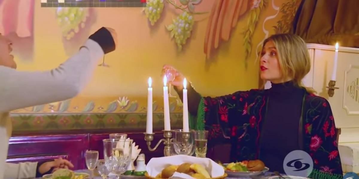 Laura Tobón se pasó de tragos en 'La vuelta a Rusia en 80 risas'