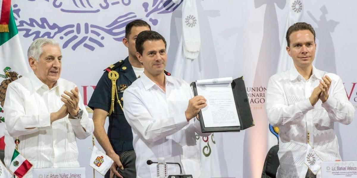 Elecciones demostrarán la solidez de instituciones y democracia: Peña Nieto