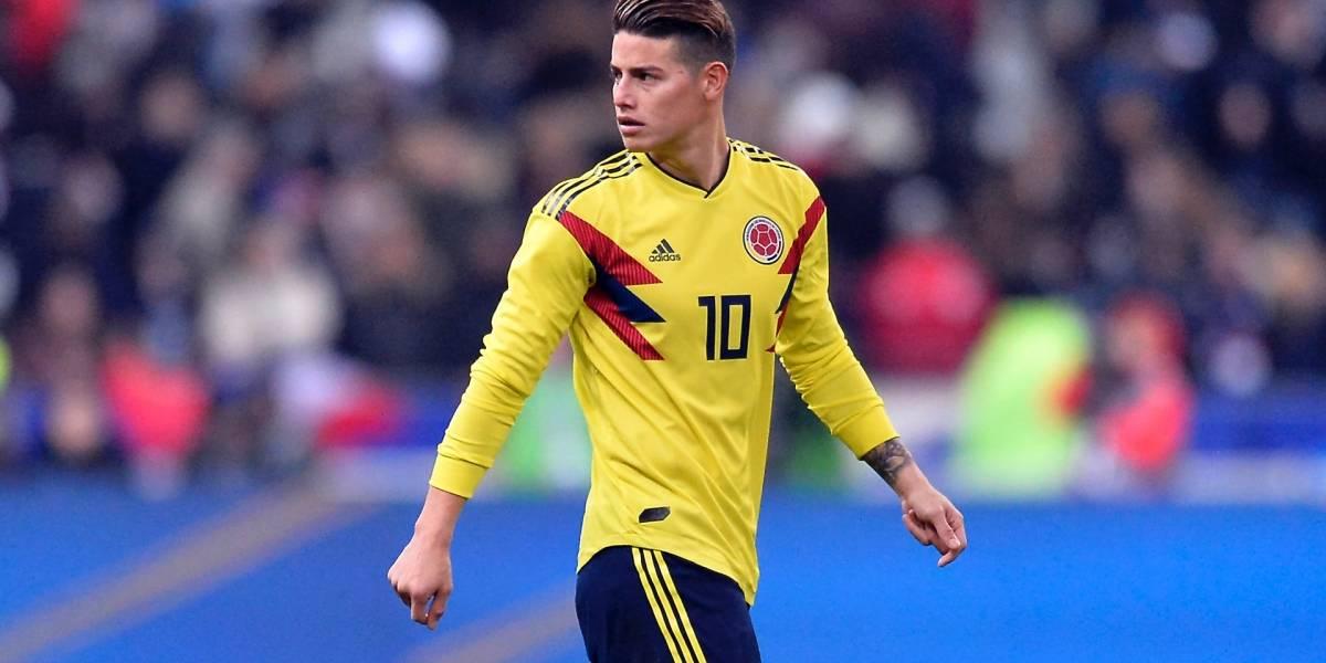 James Rodríguez se ausentó de la concentración de Selección Colombia