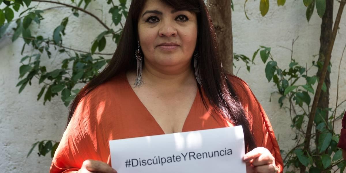 Nestora Salgado denunciará a José Antonio Meade por daño moral