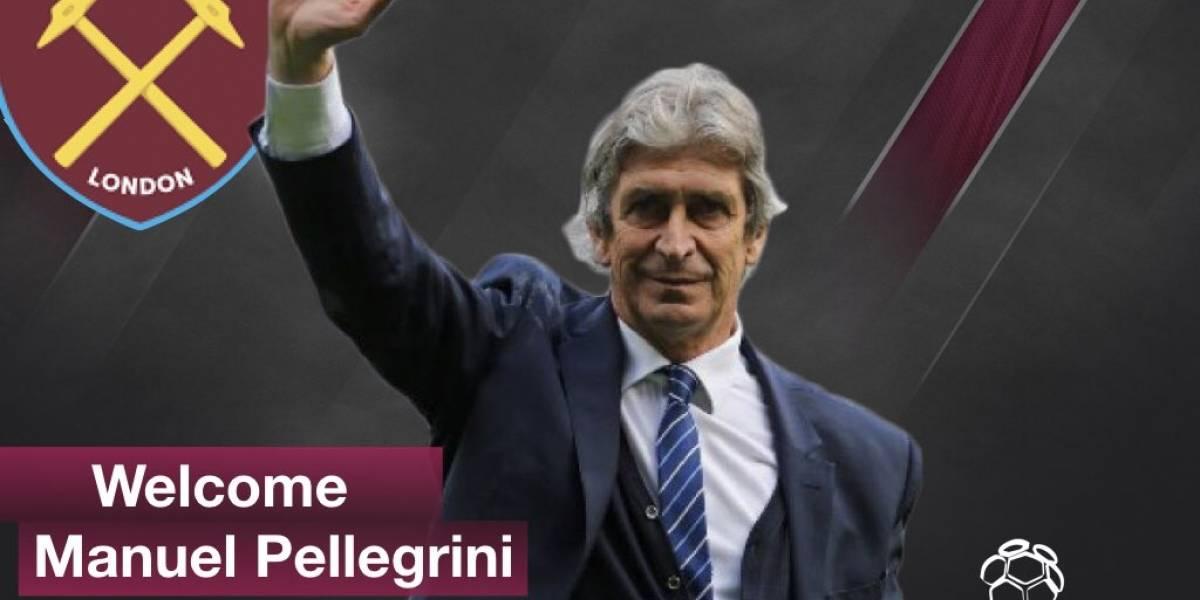 """Prensa inglesa se volvió loca con el retorno de Pellegrini a la Premier League: """"Gran experiencia al West Ham"""""""