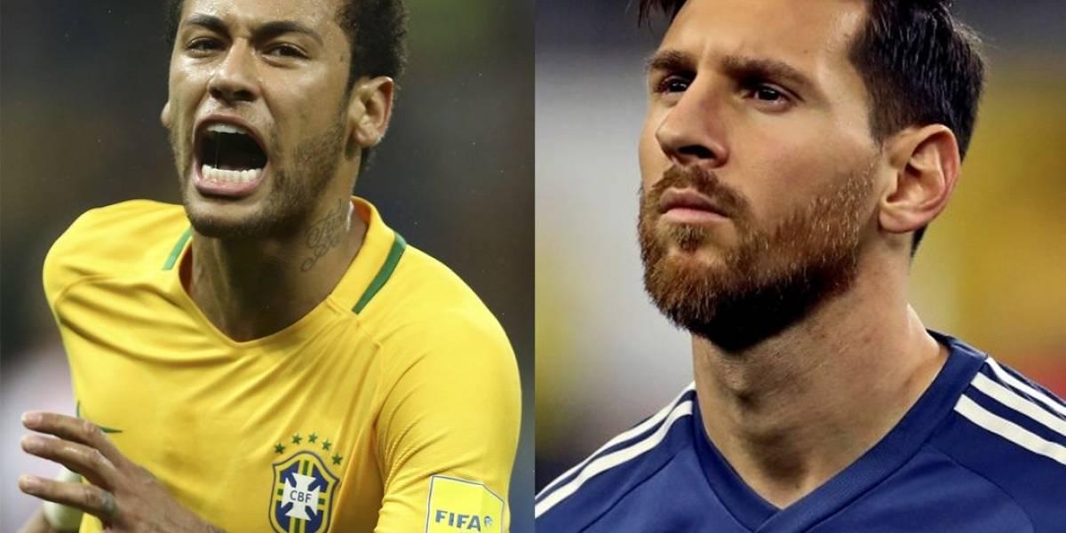 Brasil x Argentina: quem tem a seleção mais valiosa?