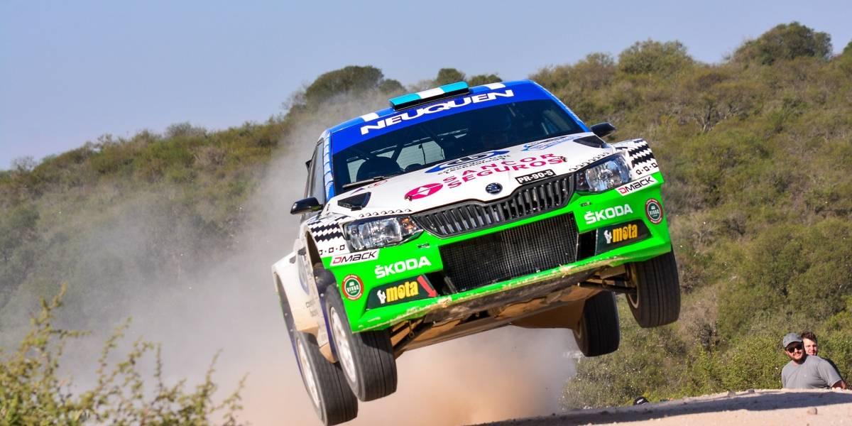 Este fin de semana debutan los Škoda Fabia en el Rally de Los Angeles
